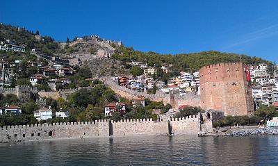 Нажмите на изображение для увеличения Название: Турецкая крепость в Аланьи.jpg Просмотров: 101 Размер:98.6 Кб ID:34